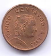 MEXICO 1975: 5 Centavos, KM 427 - Mexico