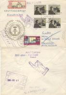 DDR 1161/64,1159 Auf Retour-R-Brief Nach Kuba - Lettres & Documents