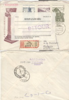 DDR 1233/35,848 Auf Retour-R-Brief Nach Südafrika - Lettres & Documents