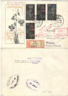 DDR 1242/44 Auf Retour-R-Brief Nach Kuweit - Lettres & Documents