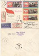 DDR 1258/61 Auf Retour-R-Brief Nach Algerien - Lettres & Documents