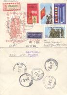 DDR 1569/72 Auf Retour-R-Brief Nach Canada - [6] République Démocratique