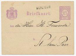 Naamstempel Berlicum 1878 - Periode 1852-1890 (Willem III)