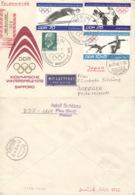 DDR 1726,1729/30,846 Auf Retour-R-Brief Nach Japan - Lettres & Documents