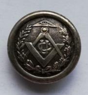 Badge Franc Maçon Signé Dubois Cornavin Genève 27 Mm - Franc-Maçonnerie