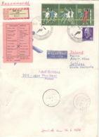DDR 1928/30,936 Auf Retour-R-Brief Nach Island - Lettres & Documents