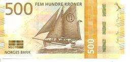 Norway 500 Kroner  2018 New UNC - Norvège