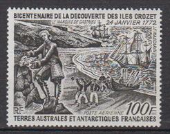 1972-TAAF -P.A. N°27** BICENTENAIRE DE LA DÉCOUVERTE DES ILES CROZET - Airmail