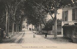 CPA-06-Thermes De MANDELIEU-Route De L'Estérel-Poste - Frankreich
