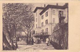 1608/ Campione, Lac De Lugano, Ristaurante, Pensione Ferrari, 1919 - TI Tessin