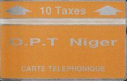 311/ Niger; Landis, P5. O.P.T. Niger - Orange; 10 Ut., CP 404C - Niger