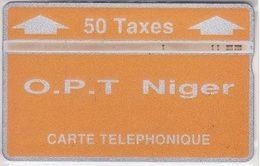 312/ Niger; P7. O.P.T. Niger - Orange, CP 208B - Niger