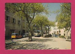 83 - LE THORONET - Place Des Ecoles Et Jeu De Boules - France
