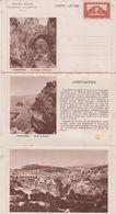 ALGERIE - Carte Lettre Affranchie N° 3 - Constantine ( RARE ) - Non Classés