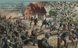 Mancenans-Lizerne, Lizerne Westlich Des Ypern-Kanals Von Den Deutschen Erstürmt  1914/15 WWI WWICOLLECTION - Ieper