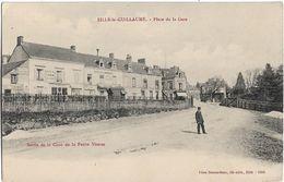 Sillé Le Guillaume : Place De La Gare - Sille Le Guillaume