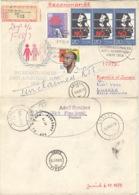 DDR 3x2369,2293,2263 Auf Retour-R-Brief Nach Sambia - [6] Repubblica Democratica