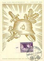 Deutsches Reich - Tag Der Briefmarke 11. Januar.1942 Frankfurt - Germany