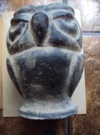 UIL - HIBOU - EULE - OWL    27cm X 17 Cm   2,4 Kg - Sculptures