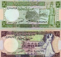 LOTTO SYRIA -AUNC-UNC - Monedas & Billetes