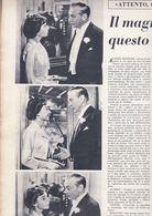 (pagine-pages)AUDREY HEPBURN E GARY GRANT    L'europeo1957/595. - Autres
