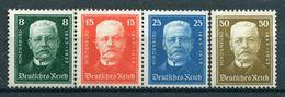 Deutsches Reich Weimar - Michel 403-406 Pfr.**/MNH - Germany