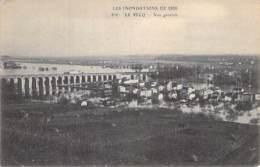 78 - LE PECQ ( Inondations De 1910 ) Vue Générale - CPA - Yvelines - Le Pecq