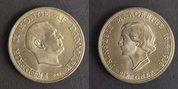 Denemarken 2 Kroner, 1958 18th Anniversary - Birth Of Princess Margrethe KM# 845 - Dinamarca