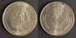 Denemarken 5 Kroner, 1960 Silver Wedding KM# 852 - Dinamarca