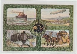 DR Privatganzs. PP 27: PWZ-Ausstellung Cassel 1914 - Germany