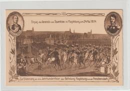 DR Privatganzs. PP 27: Einzug General V. Tauentzien In Magdeburg - Germany