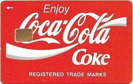 Unknown Origin - Coca Cola Demo, 200U, 2.000ex, Used - Télécartes