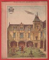 Protége Cahier Ancien Fin XIXéme Collection Moeurs Et Habitations  Renaissance - Protège-cahiers