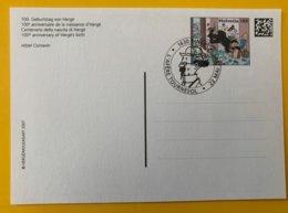 """10288 - 2 Entiers Postaux 100e Anniversaire Naissance D'Hergé Oblitération """"L'Afére Tournesol"""" Bulle 22.05.2007 - Bandes Dessinées"""