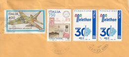 Storia Postale - Frammento Di Lettera  Viaggiata - - 6. 1946-.. Republic