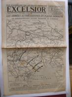 Journal EXCELSIOR 2 Novembre 1918 Les Armées Autrichiennes En Pleine Déroute Reddition De La Turquie - 1914-18