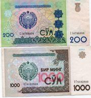 LOTTO UZBEKISTAN - Monedas & Billetes