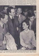 (pagine-pages)AUDREY HEPBURN E MEL FERRER   Oggi1955/17. - Autres
