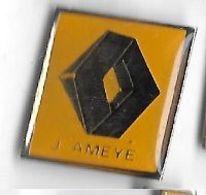 Pin's   Automobile  RENAULT  J. AMEYE - Renault