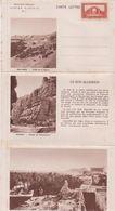 ALGERIE - Carte Lettre Affranchie N° 4 - Béni Abbès - Hoggar - Laghouat ( RARE ) - Non Classés