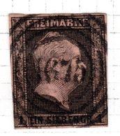 ALLEMAGNE - (Prusse) - 1850-56 - N° 3 - 1 S. Noir S.rose - (Frédéric-Guillaume IV) - Prusse