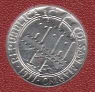 SAN MARINO 1 LIRE 1977 FAO KM# 63 IL VERDE MANTO DELLA TERRA - Saint-Marin