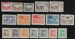 EASTERN CHINA 1949-49 SCOTT 5L13,23,24,29,35,77,78,81,84-90 - North-Eastern 1946-48