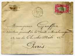 Lettre De L'Evêché De SAINT DENIS / Pour Directeur De La Société Antiesclavagiste à Paris / Réunion / 1910 - Réunion (1852-1975)