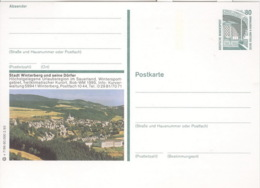 BRD Ganzsache P151 Stadt Winterberg * - Cartes Postales Illustrées - Neuves