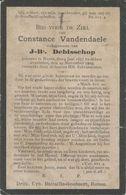 BP Vandendaele Constance (Ronse 1857-1905) - Colecciones