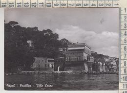NAPOLI POSILLIPO VILLA LAURO VG  1955 - Napoli (Naples)