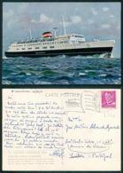 BARCOS SHIP BATEAU PAQUEBOT STEAMER [ BARCOS # 03562 ] - KONG FREDERIK IX GEDSER GROSSENBRODE - Steamers