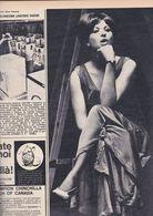 (pagine-pages)BARBRA STREISAND  Gente1964/17. - Libri, Riviste, Fumetti