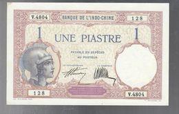 Indocina Indo-chine INDOCINA FRANCESE 1 Piastre 1921-1931 KM#48b Lotto.1914 - Viêt-Nam